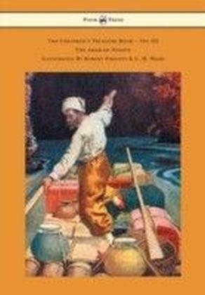 Children's Treasure Book - Vol III - The Arabian Nights - Illustrated By Robert Pimlott & C. H. Ward