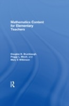 Mathematics Content for Elementary Teachers