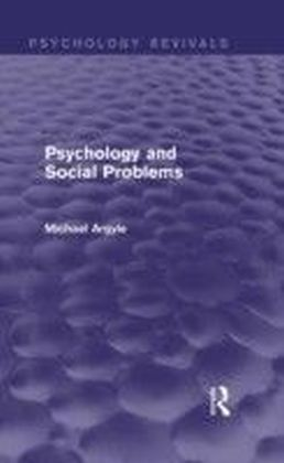 Psychology and Social Problems (Psychology Revivals)