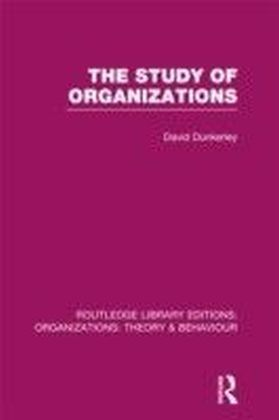 Study of Organizations (RLE: Organizations)