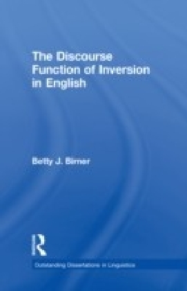Discourse Function of Inversion in English