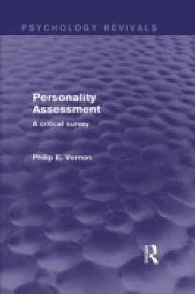 Personality Assessment (Psychology Revivals)
