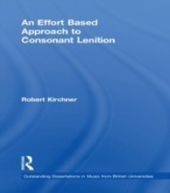Effort Based Approach to Consonant Lenition