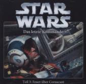 Star Wars, Das letzte Kommando - Feuer über Coruscant, 1 Audio-CD Cover