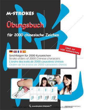 Strichfolgen für 2000 chinesische Kurzzeichen