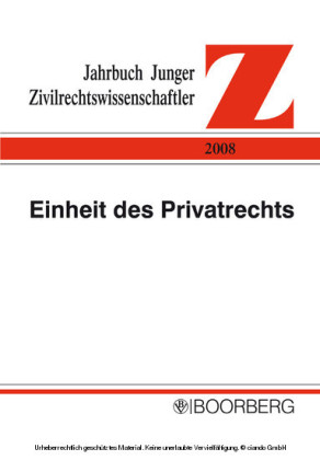Einheit des Privatrechts, komplexe Welt