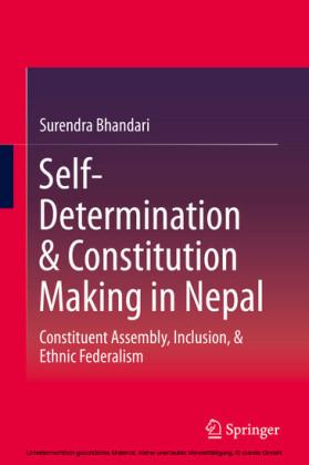 Self-Determination & Constitution Making in Nepal