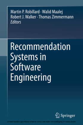 Recommendation Systems in Software Engineering