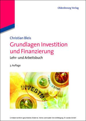 Grundlagen Investition und Finanzierung