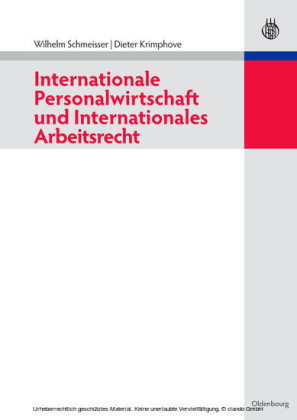 Internationale Personalwirtschaft und Internationales Arbeitsrecht