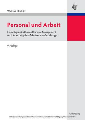 Personal und Arbeit