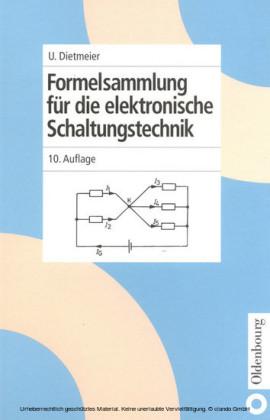 Formelsammlung für die elektronische Schaltungstechnik