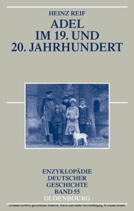 Adel im 19. und 20. Jahrhundert