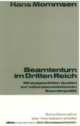 Beamtentum im Dritten Reich