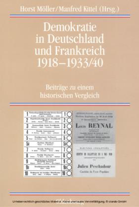 Demokratie in Deutschland und Frankreich 1918-1933/40