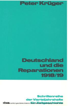Deutschland und die Reparation 1918/1919