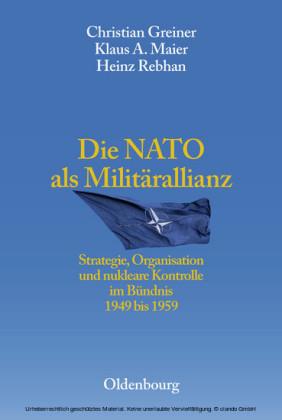 Die NATO als Militärallianz