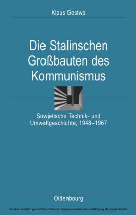 Die Stalinschen Großbauten des Kommunismus