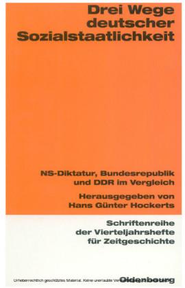 Drei Wege deutscher Sozialstaatlichkeit
