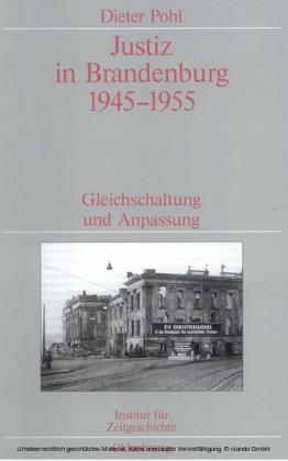 Justiz in Brandenburg 1945-1955