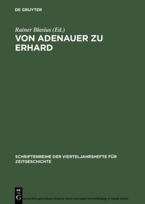Von Adenauer zu Erhard