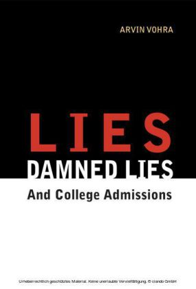 Lies, Damned Lies, and College Admissions