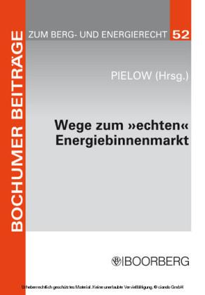 Wege zum 'echten' Energiebinnenmarkt: Konsens im Ziel, Dissens über die Methoden