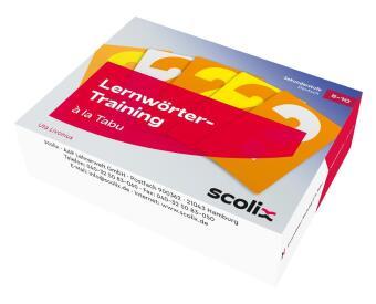 Lernwörter-Training à la Tabu, Lernkarten
