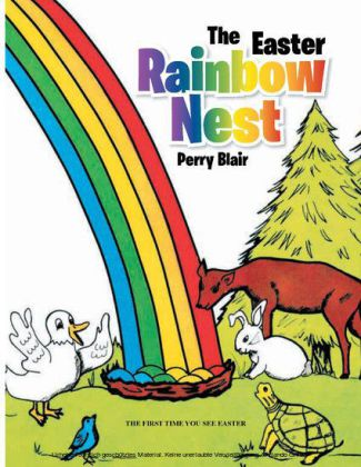 The Easter Rainbow Nest
