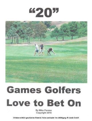 '20' Games Golfers Love to Bet On
