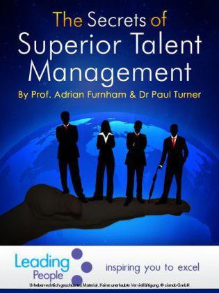 The Secrets of Superior Talent Management