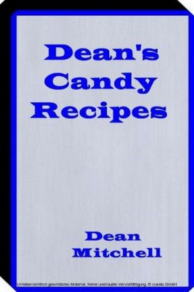 Deans Candy Recipes