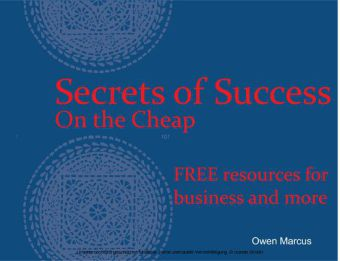 Secrets of Success - On the Cheap