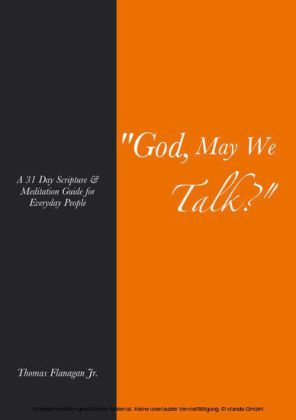 God, May We Talk?