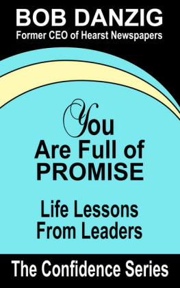 You Are Full of Promise