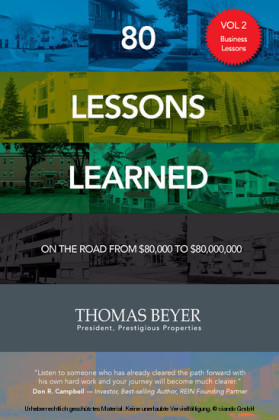 80 Lessons Learned - Volume II - Business Lessons