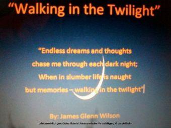 'Walking in the Twilight'