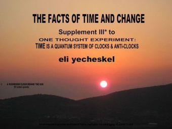 SUPPLEMENT III: The Facts of Time and Change