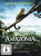 AMAZONIA - Abenteuer im Regenwald, 1 DVD Cover