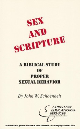 Sex and Scripture