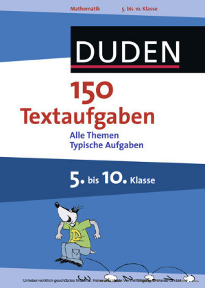 150 Textaufgaben 5. bis 10. Klasse