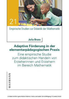 Adaptive Förderung in der elementarpädagogischen Praxis