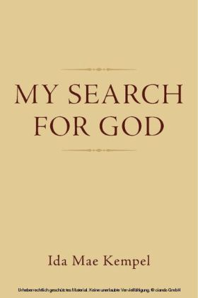 My Search For God