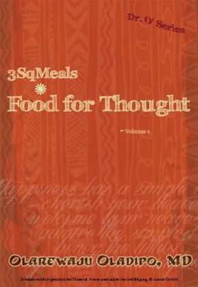 3SqMeals - Food for Thought - Volume 1