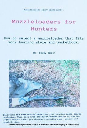 Muzzleloaders for Hunters