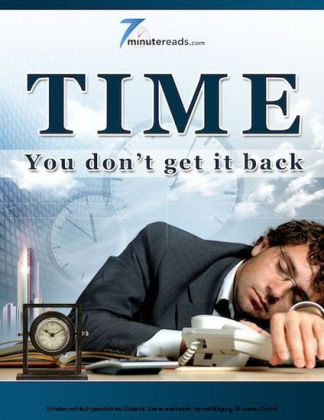 Time - You Don't Get it Back