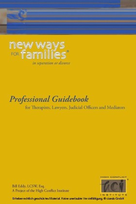 New Ways for Families in Divorce or Separation: Professional Guidebook