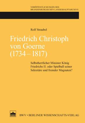 Friedrich Christoph von Goerne (1734 - 1817)
