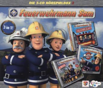 Feuerwehrmann Sam Hörspielbox, 3 Audio-CDs