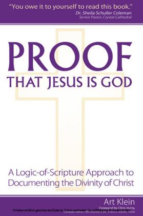 Proof that Jesus Is God